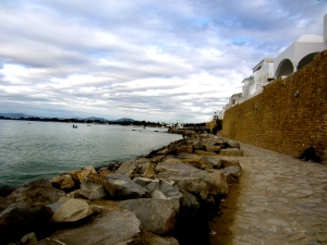 Coastline in Hammamet