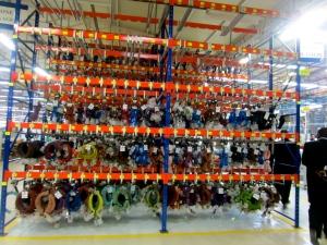 Automotive Parts at the COFAT factory