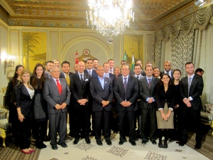 """""""Doing Business in Tunisia"""" Global Immersion Class with  President Marzouki"""