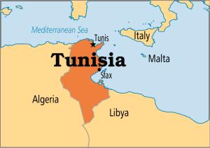 Tunisia Map Picture