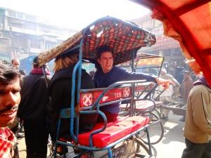 Rickshaw Ride Confusion