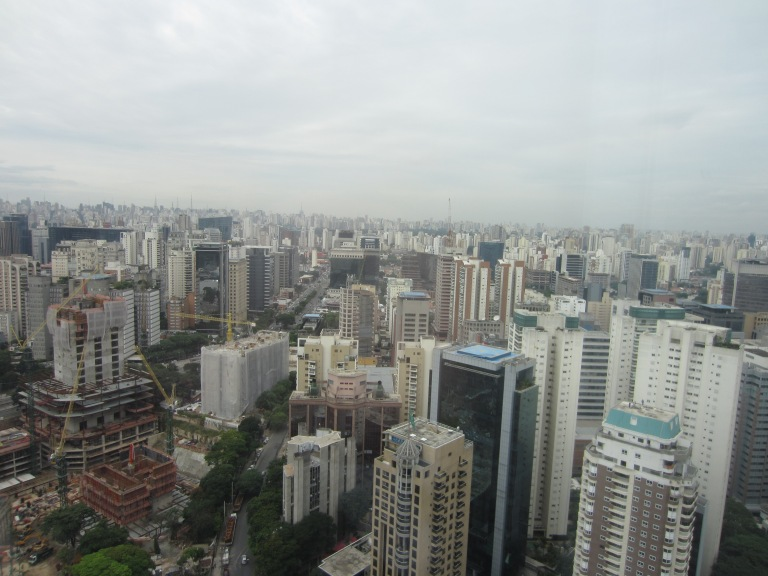 Sau Paulo's neverending skyline