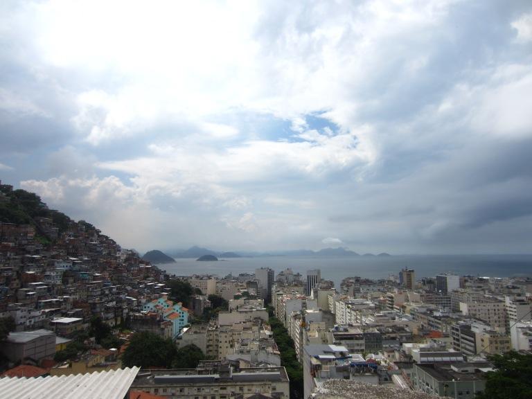 Hillside favela (Rio de Janeiro)