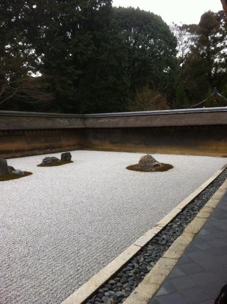 Ryoan Temple Rock Garden - Kyoto