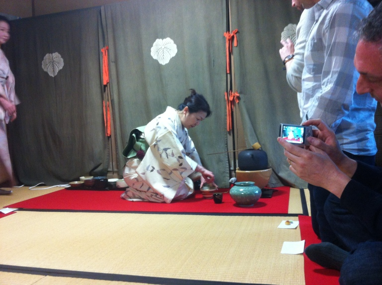 Tea Ceremony at Tondaya