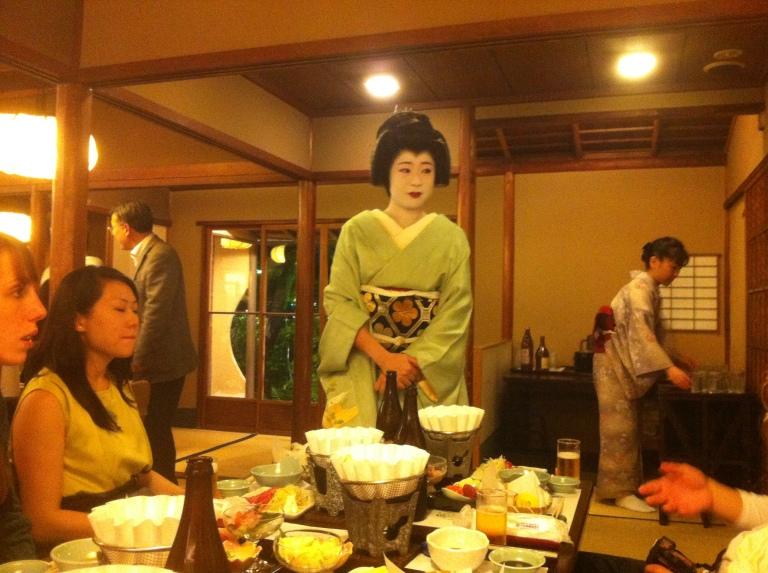 Shabu Shabu Dinner at Ganko in Kyoto