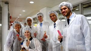 CBS Students taste Ice Cream at the Lotte Confectionary Factory