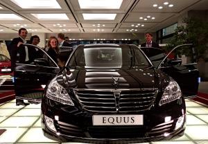 Hyundai Motors showroom