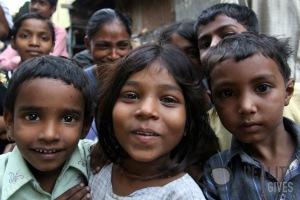 Dharavi Kids' smiles