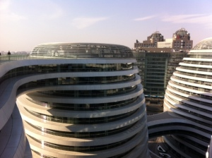 The building, designed by Zaha Haidid Architects