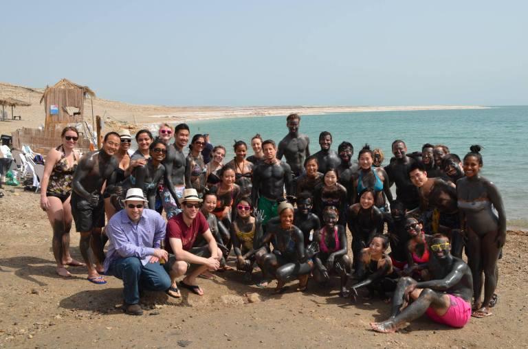 Dead Sea: #CBSatTheCenter of Beauty