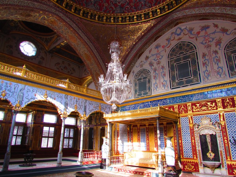 Beautifully preserved Topkapi Palace is a must see!