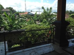 It's green in Bali