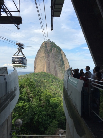 Tram ride to the top of Sugarloaf Mountain