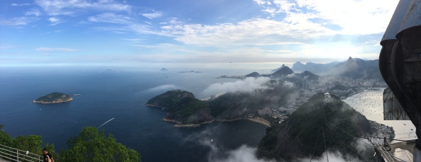 View of Rio de Janeiro from Sugarloaf Mountain