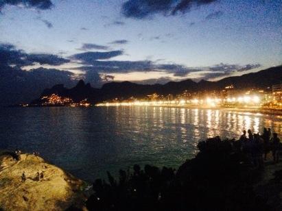 The beautiful Ipanema Beach