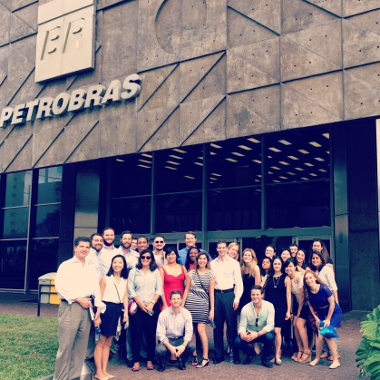 Discussing energy production at Petrobras