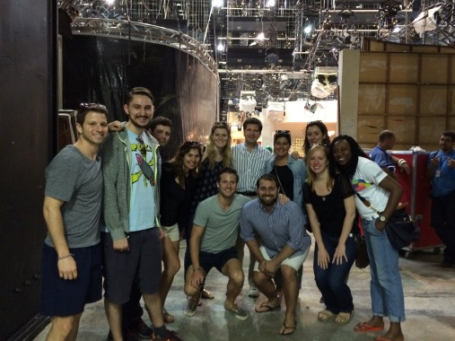 Behind the scenes on the set of TV Globo's famous telenovelas