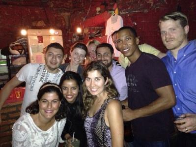 Night out at Rio Scenarium for some samba and techno fun