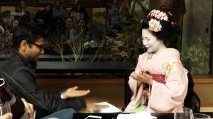 Playing games with a Geisha giirl