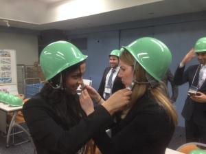 Teamwork at ANA