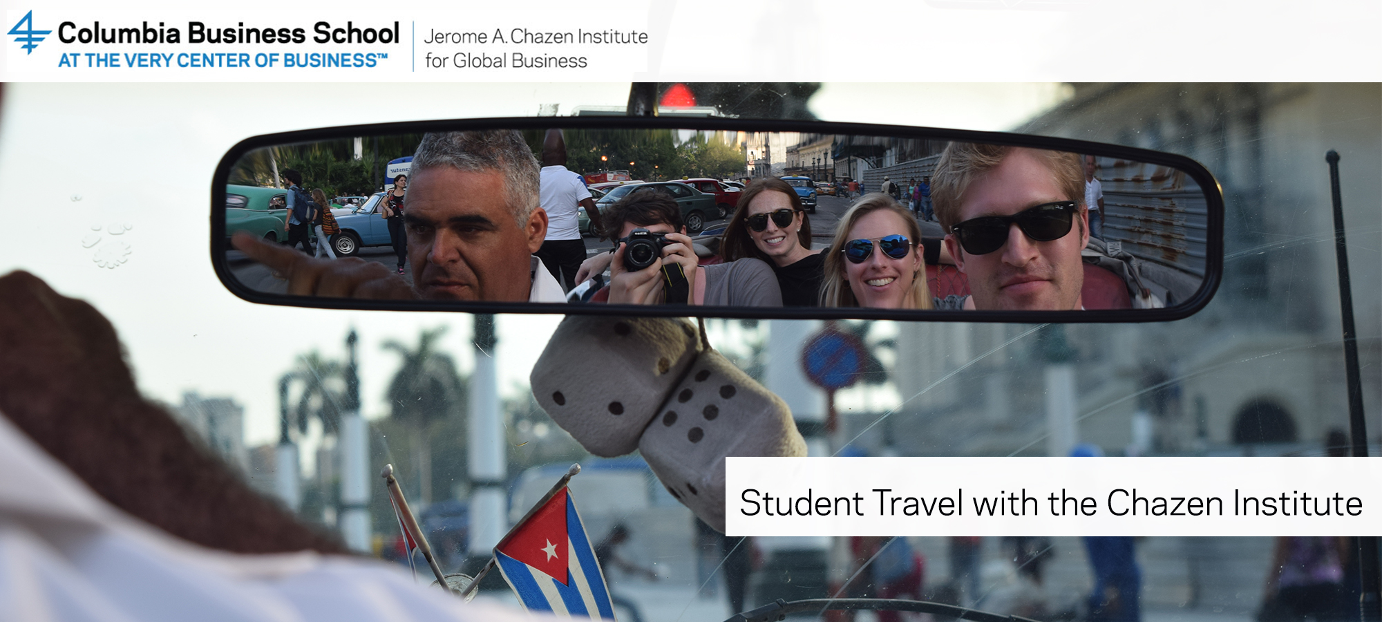 Student travel with the Chazen Institute