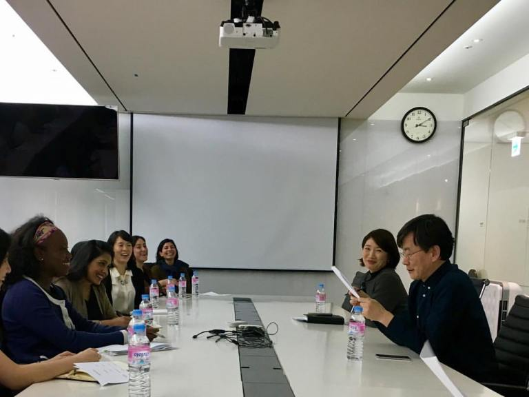 Keeping up with Korea – Student travel with the Chazen Institute