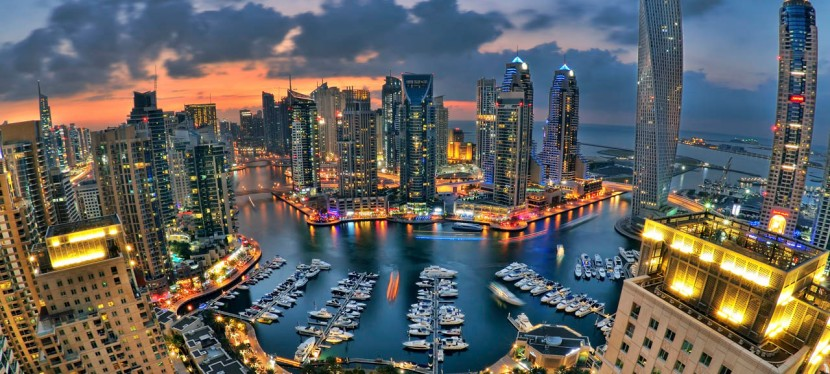 Arriving in Abu Dhabi